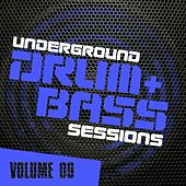 Underground Drum & Bass Sessions Vol. 9 - EP by Various Artists
