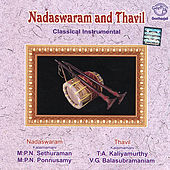 Nadaswaram And Thavil by V.G.Balasubramanium