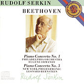 Play & Download Beethoven: Piano Concertos Nos. 1 & 3 by Rudolf Serkin | Napster