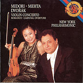 Play & Download Dvorák: Violin Concerto, Romance and Carnival Overture by New York Philharmonic | Napster