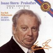 Prokofiev:  Violin Concertos No. 1 & 2 by New York Philharmonic