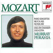 Mozart:  Concertos No. 17 & 18 for Piano and Orchestra by English Chamber Orchestra; Murray Perahia