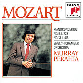 Mozart:  Concertos for Piano and Orchestra No. 6 & 13 by English Chamber Orchestra; Murray Perahia