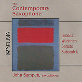 Play & Download The Contemporary Saxophone by Various Artists | Napster