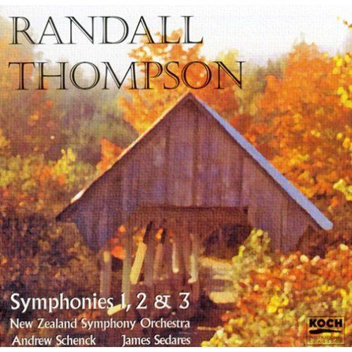 Play & Download Randall Thompson - Symphonies 1,2 & 3 by New Zealand Symphony | Napster