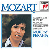 Mozart:  Concertos No. 22 & 24 for Piano and Orchestra by English Chamber Orchestra; Murray Perahia