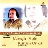Play & Download Mangte Hain Karm Unka Vol. 107 by Nusrat Fateh Ali Khan | Napster