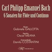 Play & Download Carl Philipp Emanuel Bach: 6 Sonaten für Flöte und Continuo by Oscar Meana Gabriele Gallotta | Napster