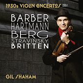 1930s Violin Concertos, Vol. 1 by Gil Shaham