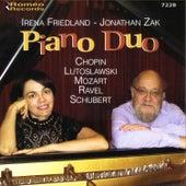 Piano Duo by Jonathan Zak