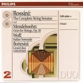 Play & Download Rossini: String Sonatas/ Wolf: Italian Serenade//Mendelssohn: Octet by Various Artists | Napster