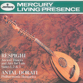 Respighi: Ancient Airs and Dances/Suites Nos.1-3 by Philharmonia Hungarica