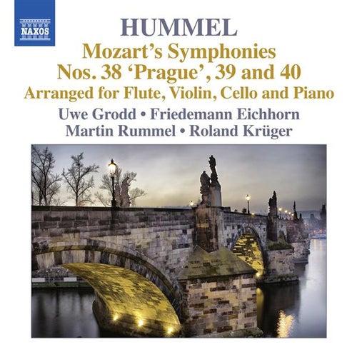Play & Download Mozart: Symphonies Nos. 38, 39, 40 (Arr. Hummel) by Uwe Grodd | Napster