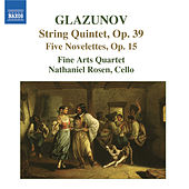 Play & Download GLAZUNOV: 5 Novelettes / String Quintet, Op. 39 by Fine Arts Quartet | Napster