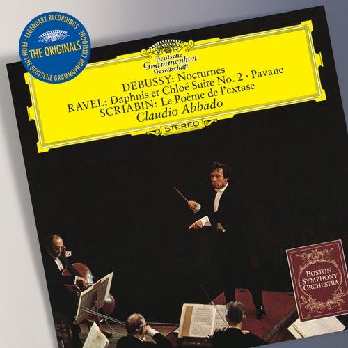 Play & Download Debussy: Nocturnes / Ravel:  Daphnis et Chloé Suite No.2; Pavane / Scriabin: Le Poème de l'exstase by Boston Symphony Orchestra | Napster