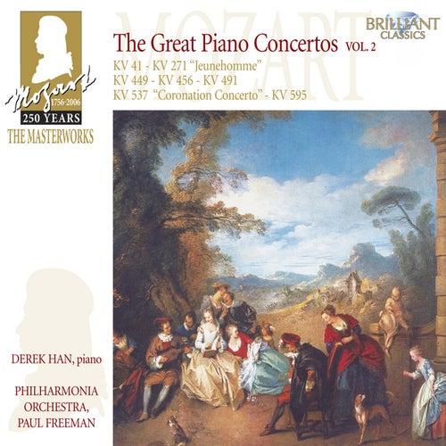 Mozart: The Great Piano Concertos, Vol. 2 by Philharmonia Orchestra Derek Han