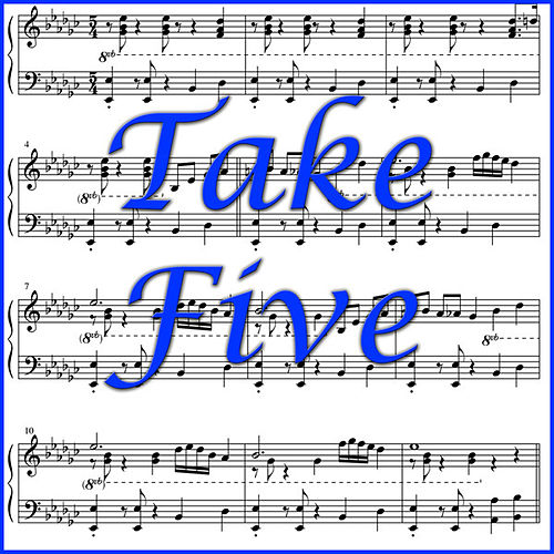 Play & Download Take Five by Various Artists | Napster