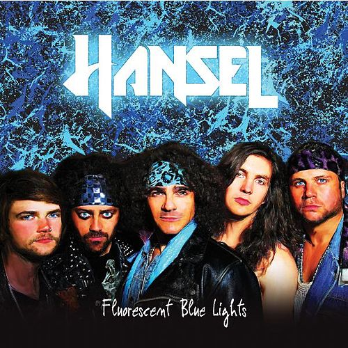 Fluorescent Blue Lights by Hansel