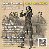 Play & Download Violin Masterpieces: Arthur Grumiaux Plays Paganini & Mozart by Arthur Grumiaux | Napster