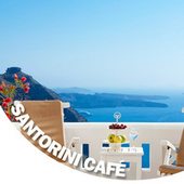 Santorini Café by Various Artists