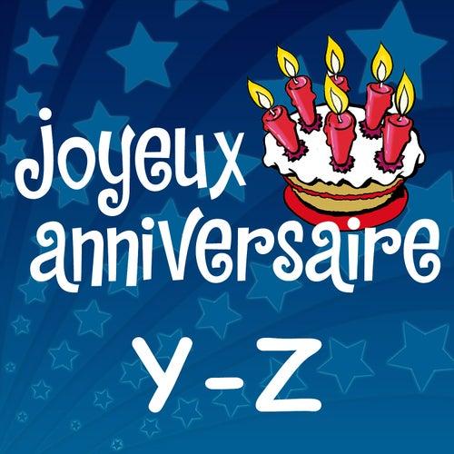 Prénoms Garçons Y-Z by Joyeux Anniversaire