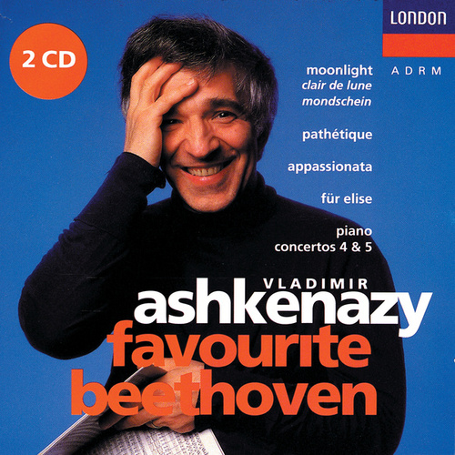 Play & Download Favourite Beethoven by Vladimir Ashkenazy | Napster