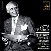 Play & Download Beethoven: Symphony No. 5 & Respighi: Pini Di Roma by Victor de Sabata | Napster