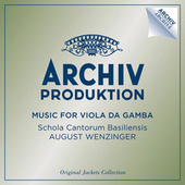 Music For Viola Da Gamba von Various Artists