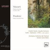 Mozart: Piano Concertos, K. 242 & K. 365 - Poulenc: Piano Concerto, FP 61 by Marco Sollini
