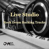 Play & Download Live Studio Rock Drum Backing Tracks by Jon Hall | Napster