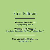 Play & Download Vincent Persichetti: Symphony No. 8 - Wallingford Riegger: Study in Sonority, for Ten Violins, Op. 7 by Jorge Mester | Napster