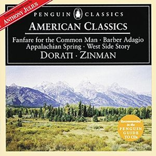 Barber/Berstein/Copland: American Classics - Adagio for Strings/Candide Overture etc. by Various Artists