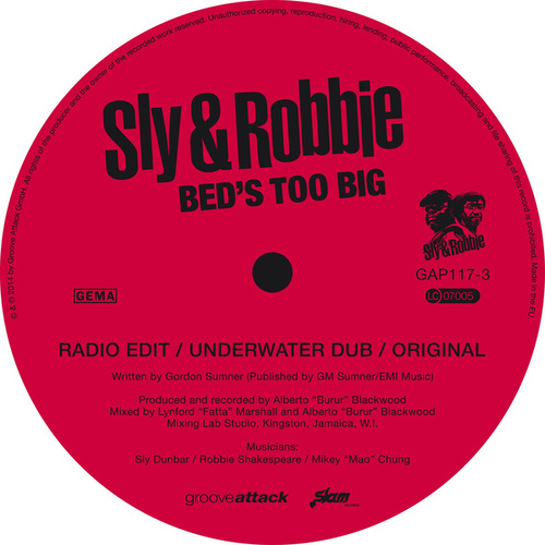 Play & Download Bed's Too Big by Sly and Robbie | Napster