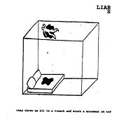 Play & Download They Threw Us All In A Trench and Stuck a Monument on Top by Liars | Napster
