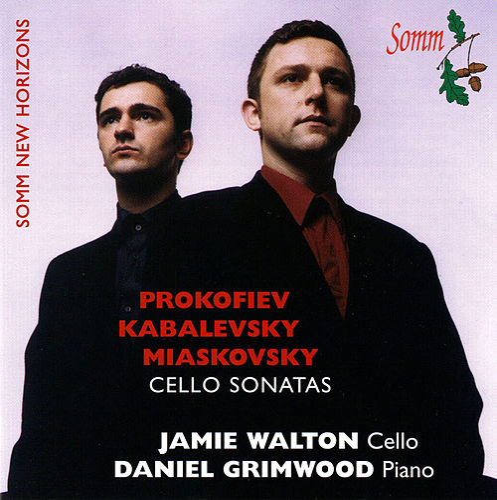 Play & Download Prokofiev, Kabalevsky, & Myakovsky: Cello Sonatas by Jamie Walton | Napster