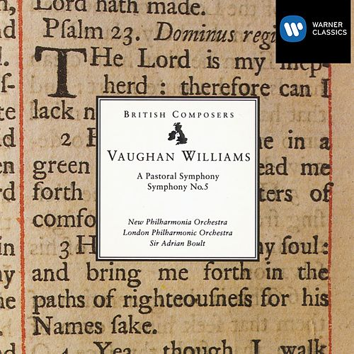 Play & Download Vaughan Williams: A Pastoral Symphony - Symphony No.5 by London Philharmonic Orchestra | Napster