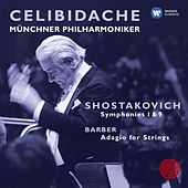 Shostakovich: Symphonies 1 & 9; Barber: Adagio for Strings by Various Artists