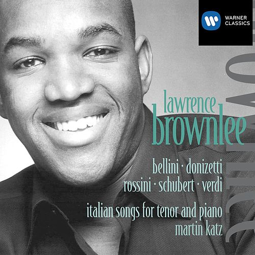 Debut Song Recital by Lawrence Brownlee