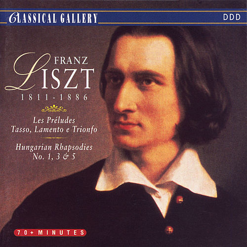 Play & Download Liszt: Les Preludes, Tasso, Lamento e Trionfo, Hungarian Rhapsodies Nos. 1, 3, & 5 by New York Philharmonic | Napster