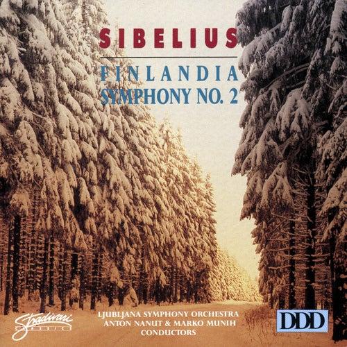 Play & Download Sibelius: Symphony No. 2 - Finlandia by Ljubljana Symphony Orchestra | Napster