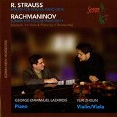 Play & Download Strauss: Sonata for Violin & Piano, Op. 18 - Rachmaninov: Sonata for Cello & Piano, Op. 19 by Yuri Zhislin   Napster