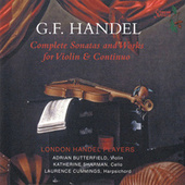 Handel: Complete Sonatas & Works for Violin and Continuo by Various Artists