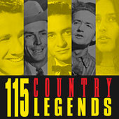 115 Country Legends von Various Artists