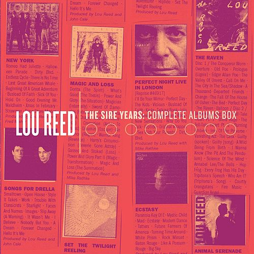 Play & Download The Sire Years: The Solo Collection by Lou Reed | Napster