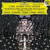 Play & Download Weber: Piano Trio Op. 63; Piano Quartet Op. 8 by Vadim Sakharov | Napster