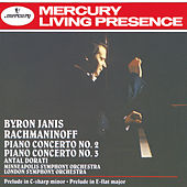 Play & Download Rachmaninov: Piano Concertos Nos.2 & 3; Prelude in E flat etc. by Byron Janis | Napster