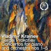 Prokofiev: Piano Concertos Nos. 1-5 by Vladimir Krainev