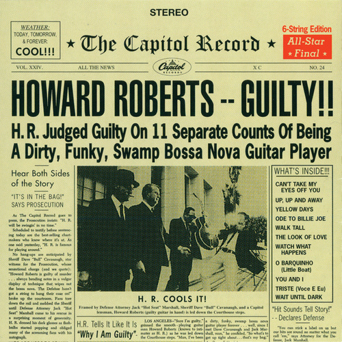 Play & Download Guilty by Howard Roberts | Napster