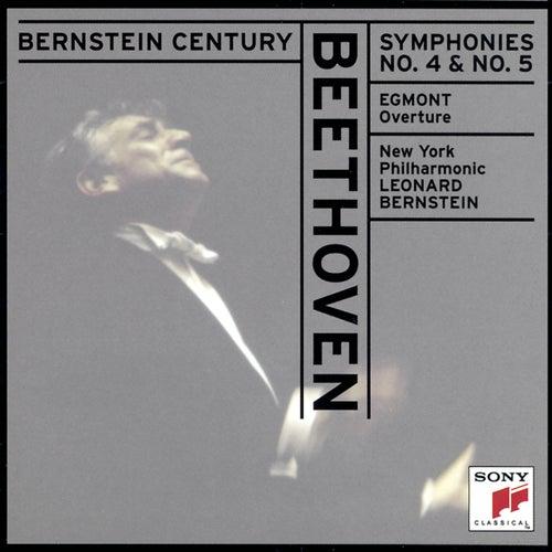 Play & Download Beethoven: Symphonies Nos. 4 & 5; Egmont Overture by Leonard Bernstein   Napster