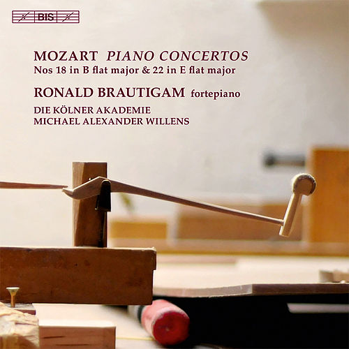 Play & Download Mozart: Piano Concertos Nos. 18 & 22 by Ronald Brautigam | Napster